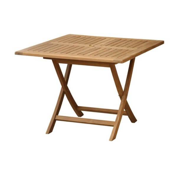 Teak Outdoor Folding Table KTT 100