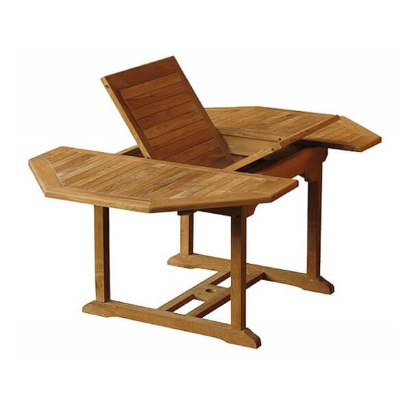 Teak Outdoor Octagonal Extension Table KTT 022