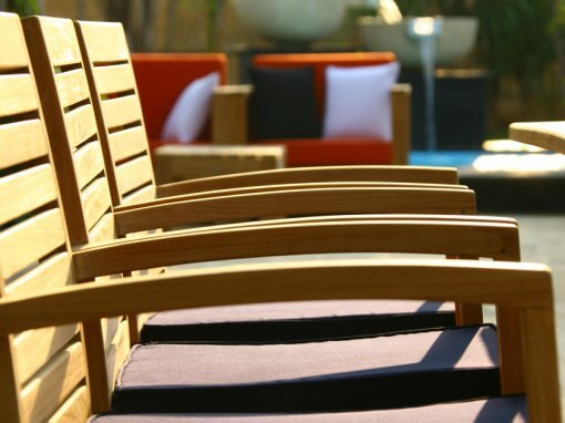 Outdoor Chairs And Bench