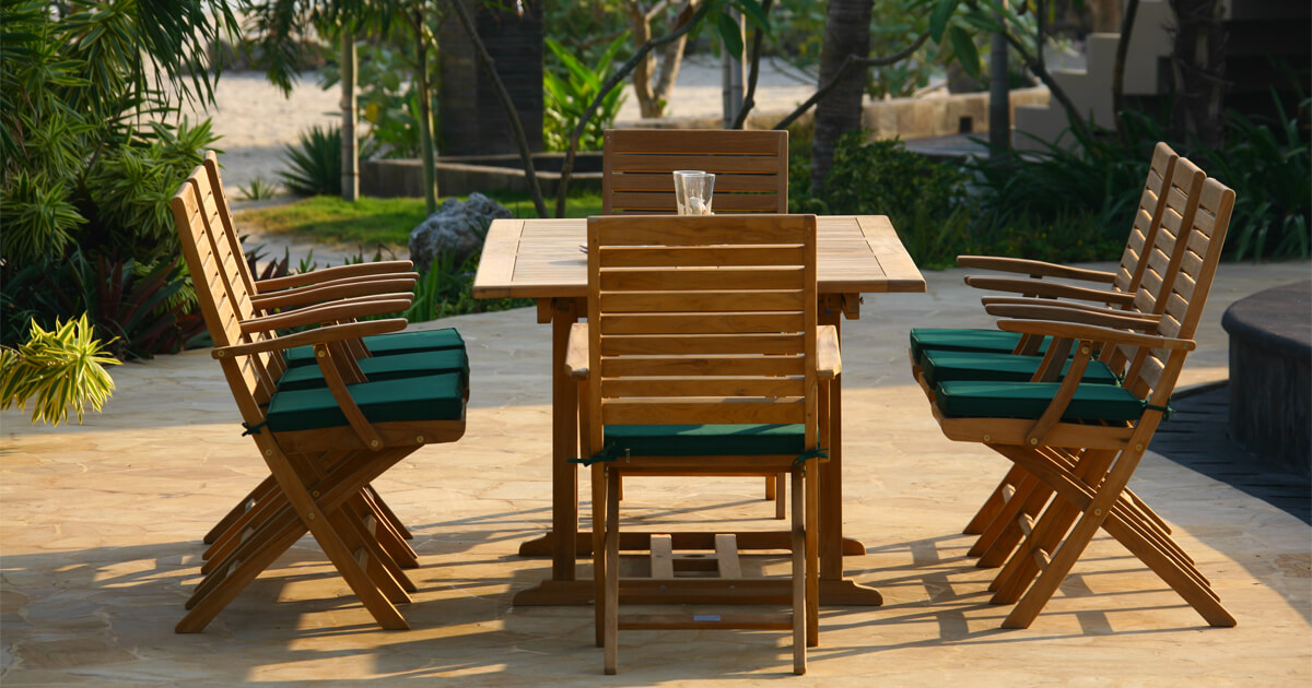 Grade A Teak Outdoor Furniture From Indonesia