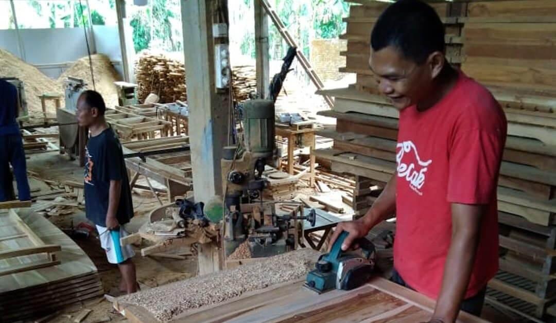 Jepara Teak Furniture Production Process